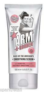 Soap & Glory? ARM-A-GOODEN? Back-Of-The-Arm Bumps Smoothing Serum 150ml 3 for 2 at Boots £4.32 or £2.16 each free click and collect