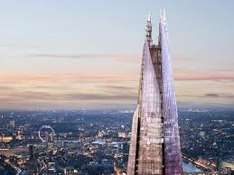 Kids go free at View from the Shard with paying Adult (From £25.95)