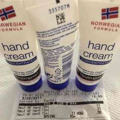Norwegian Formula Hand Cream 15ml 33p or 3 for 2 (45ml) at 66p @ Boots