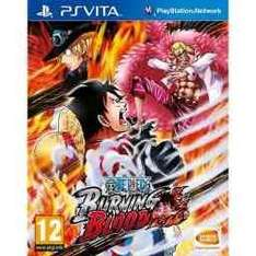 One piece burning blood (PS vita) (so called new most likely not) £14.99 @ Grainger games