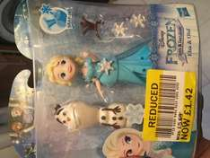 Lots of frozen and disney figures reduced TESCO instore (Irlam)