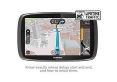TomTom GO 5100 5 inch Sat Nav with World Maps (Sim Card and Unlimited Data Included- Amazon lightning Deal) £189.99