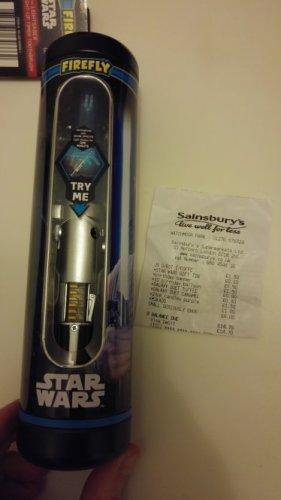 starwars light up toothbrush 10p Sainsburys watchmoor park Camberley
