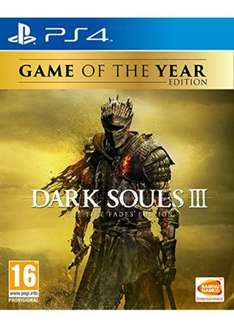 [PS4/Xbox One] Dark Souls III - The Fire Fades Edition (GOTY) - £34.99 - Base