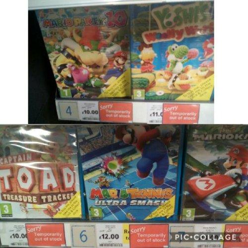 Wii U Games £14 instore @ Tesco
