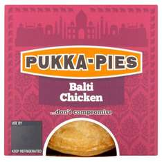 Pukka Pies Balti Chicken £1.50 at Morrisons