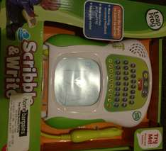 LEAPFROG SCRIBBLE AND WRITE £14.99 instore @ Home Bargains