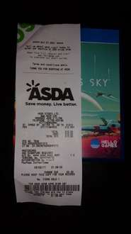 No Man's Sky for PS4 £10 in store @ Asda in Sittingbourne, Kent