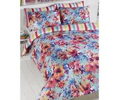 FULL BLOOM double duvet set £1.99 - with free delivery when you spend £5 at Halfcost (otherwise £3.99 delivery)