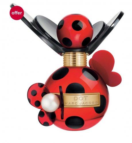 Marc Jacobs Dot Eau de Parfum 50ml @ Boots for only £30 was £50 free (C&C)
