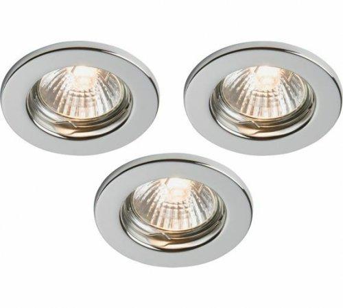 HOME Downlight Kit 3 Light Ceiling Fitting £4.99 1/2 Price Argos (Free C&C)