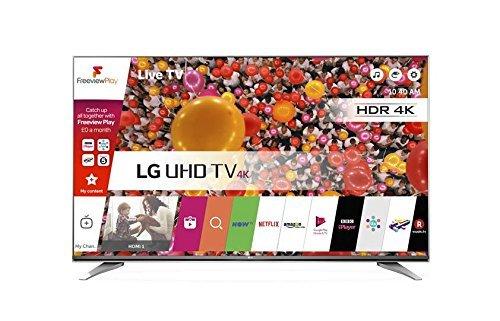 LG 65UH661V 65 inch Ultra HD 4K Smart TV webOS (2016 Model) - Carbon Titan £999 @ Amazon