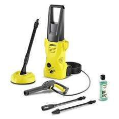 Karcher K2 Home Pressure Washer •Includes: Vario lance, dirtblaster, T50 T-racer patio cleaner & patio detergent . £60 @ Homebase ( + free £10 voucher this weekend  when you spend over £50)