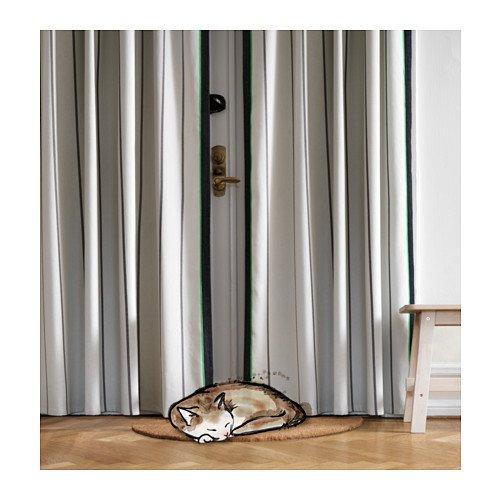 ANVÄNDBAR 250*145cm cotton/flax drape for £9 instead of £15 @ IKEA Tottenham / Edmonton (for IKEA FAMILY members)
