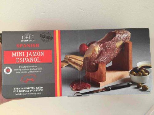 Aldi Mini Jamon kit 950g stand kit - £6.99