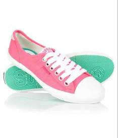 women's pink low pro trainers £6.49 with free delivery superdry outlet store on eBay!