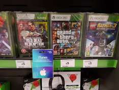 Sainsburys £5 Games for Xbox 360 and PS3 - Livingston