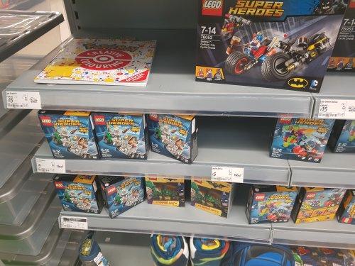 Lego mighty micros new series £5 @ Asda