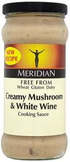 Meridian Free From White Wine and Mushroom Cooking Sauce 350g was £1.87 now 20p @ Morrisons