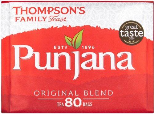 Thompsons Family Teas Punjana Tea Bags (80) was £2.28 now £1.50 @ Morrisons