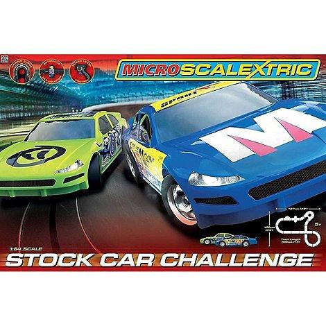Hornby Micro Scalextric Stock Car Challenge Set was £90 now £27 @ debenhams free c&c+£5voucher
