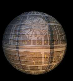 Death Star Lamp Shade £2.99 - Add on Item Sold by Gadget Grotto and Fulfilled by Amazon or £4.01 shipped from ebay.