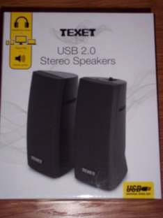 Texet USB 2.0 speakers £1 @ B&M instore