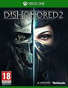 Dishonored 2 (Xbox One) @ Amazon Lightning Deal (Prime Exclusive)