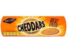 Jacobs cheddars 150 grams just 50p @poundland