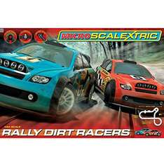 Micro Scalextric Rally Dirt Racers set £20 Tesco Direct C&C or +£3 delivery
