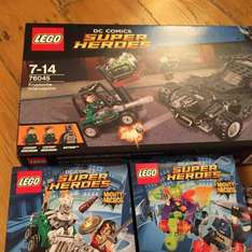 LEGO BATMAN OFFERS AT ASDA MIGHT MICROS KRYPTONITE INTERCEPTION £5 instore @ Asda