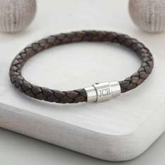 Boys personalised bracelet £16.80 delivered @ Hurleyburley.com