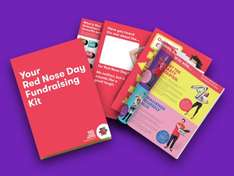 Free Red Nose Day Comic Relief Fundraising Kit