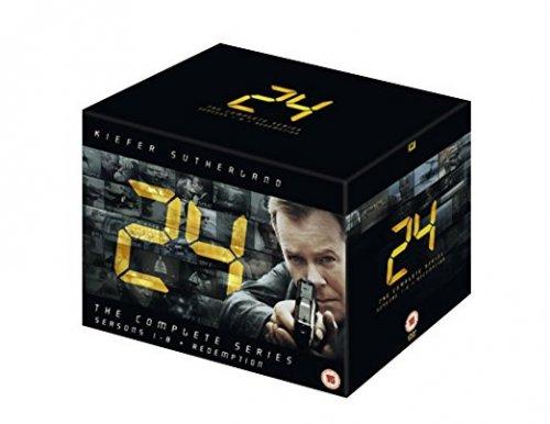 24 - Season 1-8 and Redemption [DVD] £22.62 @ Amazon