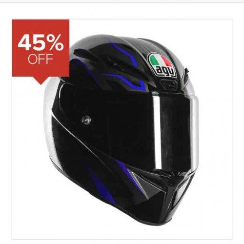 AGV GT Velcoe Motorcycle helmet - Was £329.99 Now £179.99 45%off @ Sportsbikeshop