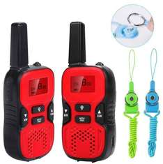 Waitiee Durable kids Walkie Talkies 2 mile Handheld Portable 2 Way Radio for Children Toy christmas Outdoor Camping Hiking ( 1 Pair) (Red) £19.99 Prime / £24.74 Non Prime Sold by DINILI Flagship Store and Fulfilled by Amazon