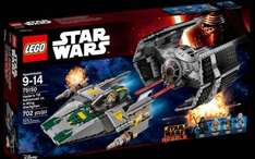 Lego Star Wars 75150 Vader's TIE Advanced vs. A-Wing £39.99 @ Lego Shop (+ £3.95 Del / Free for Orders over £50)