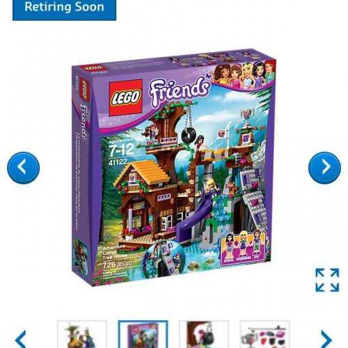 Retiring Lego friends Adventure Treehouse Half price £29.99 @ Lego store online