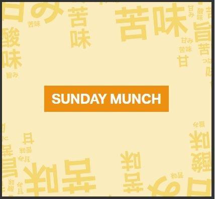 Yo Sushi Sunday Munch - 10 plates for £20 every Sunday!