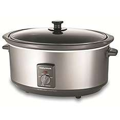 Morphy Richards Oval Stainless Steel Slow Cooker 6.5l marked down to £30 scanned at £20 - instore Sainsbury's