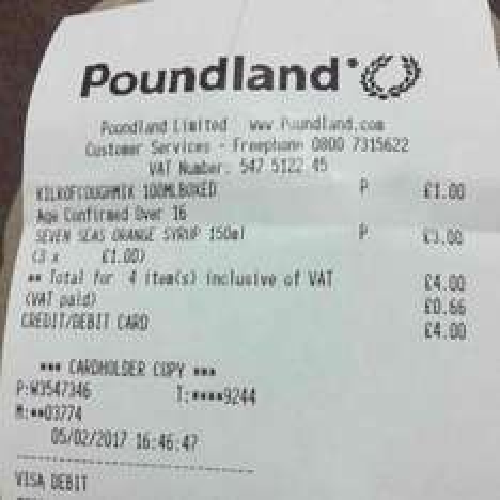 seven seas orange syrup 150ml £1 @ poundland