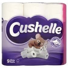 Waitrose Cushelle Fresh Linen Toilet Roll 9 pack £3.00