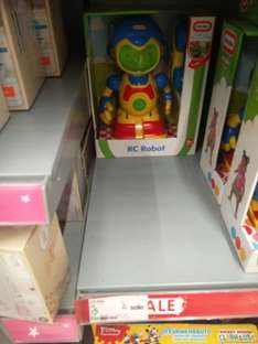 Little Tikes RC ROBOT plus external remote £5 in store Asda