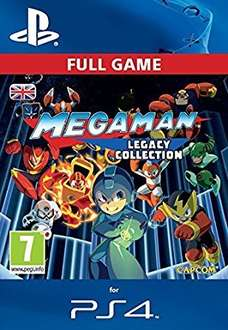 Mega Man Legacy Collection (PS4 download code) £3.99 @amazon.co.uk