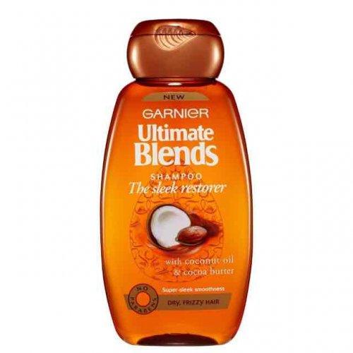 Garnier Ultimate Blends Sleek Restorer Shampoo 250ml Pack of 6  £2.79 [add on item] @ amazon.