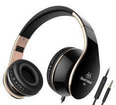 Sound Intone I65 Foldable Headphones £6.99 (Prime) £10.98 (Non Prime) @ Sold by Hongru Tek and Fulfilled by Amazon.