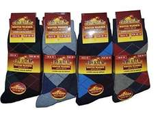 12 Thermal Socks for Just £8.40 (Prime) £13.15 (Non Prime) @ Sold by World of Hosiery and Fulfilled by Amazon.