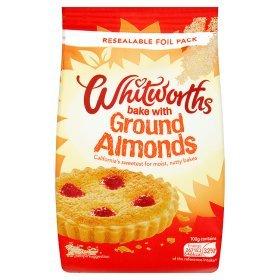 Whitworths Ground Almonds 150g bag - 3 for £3.00 @ Asda