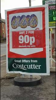 Cadbury Creme Eggs - 2 for 90p (Normally 45p each) - Costcutter
