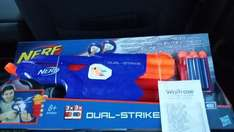 Nerf Dual Strike reduced from £17.95 to £6.95 instore Waitrose @ Lincoln